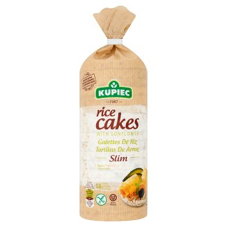 Kupiec Thin Gluten-Free Puffed Rice Cakes with Sunflower 84 g