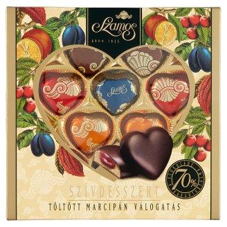 Szamos Heart Dessert Selection Filled Marzipan 10 pcs 130 g