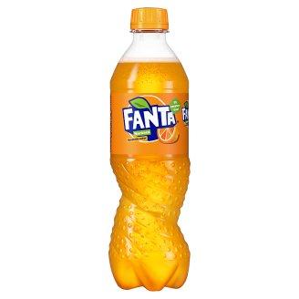 Fanta Orange Carbonated Soft Drink 500 ml