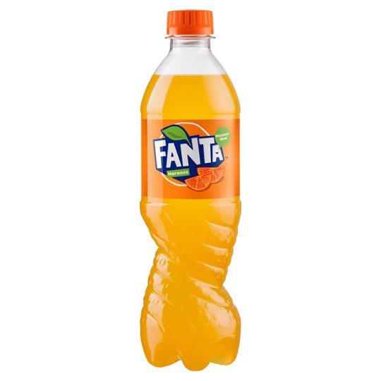 Fanta Orange Carbonated Soft Drink 500 ml