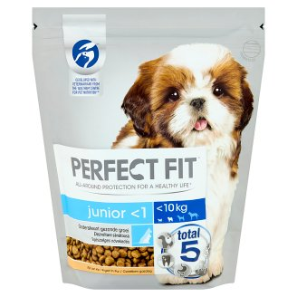 Perfect Fit Junior <1 XS/S teljes értékű száraz kutyaeledel kölyökkutyák számára 825 g