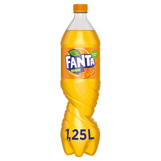 Fanta Orange Carbonated Soft Drink 1,25 l