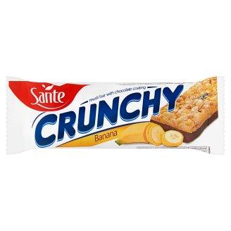 Sante Crunchy Banana Muesli Bar with Chocolate Coating 40 g
