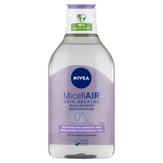 NIVEA MicellAir Micellar Water for Sensitive Skin 400 ml