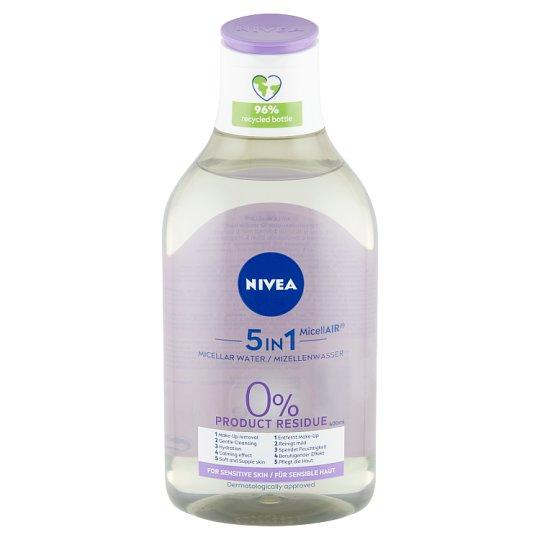 NIVEA MicellAir nyugtató micellás víz érzékeny bőrre 400 ml