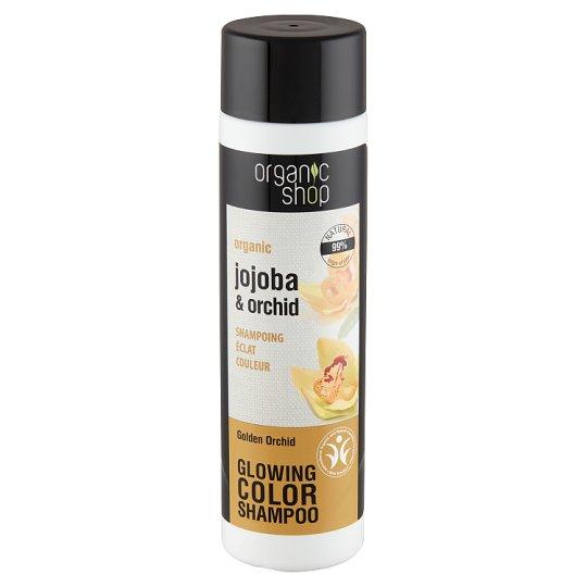 Organic Shop Golden Orchid Organic Jojoba & Orchid Colour Shampoo 280 ml