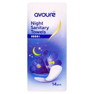Avouré Night Sanitary Towels 14 pcs
