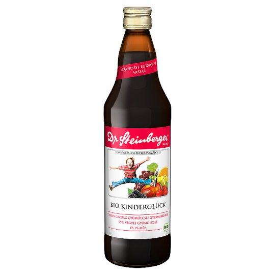 Dr. Steinberger Kinderglück BIO vegyes gyümölcslé gyermekeknek 750 ml