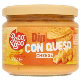 Poco Loco Cheese Dip with Edam Cheese and Jalapeno Chili Paprika 300 g