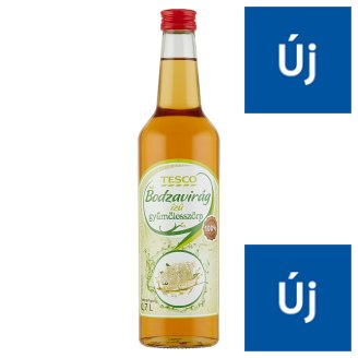 Tesco Elderflower Flavoured Fruit Syrup 0,7 l