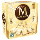 Magnum Mini White Chocolate and Almond Multipack Ice Cream 6 x 60 ml