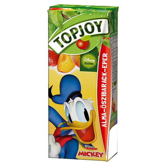 Topjoy Apple-Peach-Strawberry Drink 200 ml