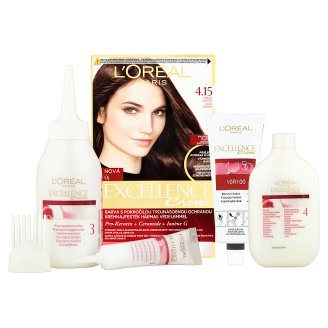 image 2 of L'Oréal Paris Excellence Creme 4.15 Icy Brown Permanent Hair Colorant