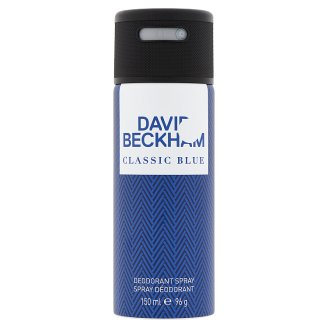 David Beckham Classic Blue Deodorant Spray for Men 150 ml