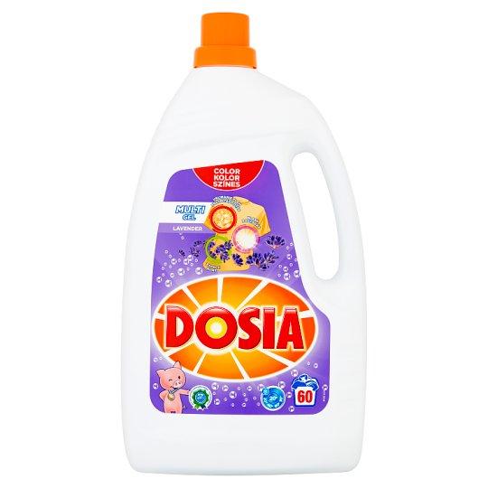 Dosia Multi Gel Lavender folyékony mosószer színes ruhákhoz 60 mosás 3 l