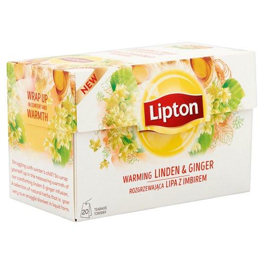 Lipton hársfa és indiai citromfű tea gyömbérrel 20 filter