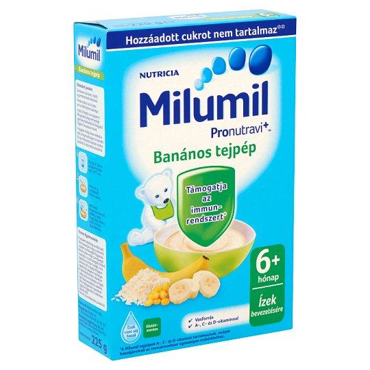 Milumil banános tejpép 6+ hónap 225 g