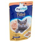 PreVital Complete Food for Adult Cats with Salmon in Gravy 85 g