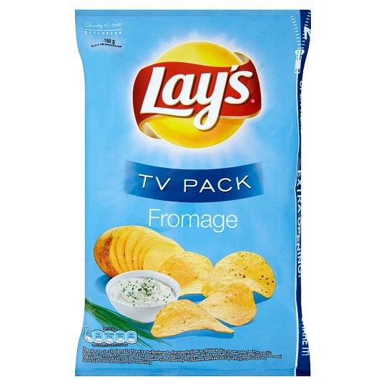Lay's Sour Cream-Chives Flavoured Potato Crisps TV Pack 150 g