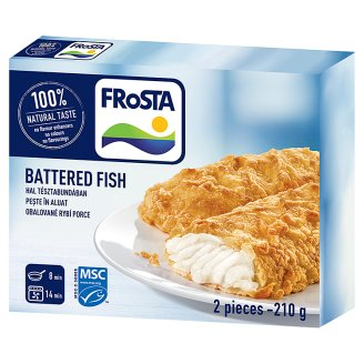 FRoSTA Quick-Frozen Battered Fish 2 pcs 210 g