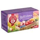 Teekanne World of Fruit gyümölcstea bogyósgyümölcs ízzel és 10 féle vitaminnal 20 filter 50 g