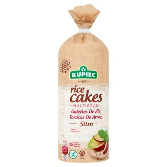 Kupiec Slim gluténmentes puffasztott rizskeksz magvakkal 90 g