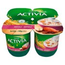Danone Activia Muesli Yoghurt with Whole Grain Cereals and Live Cultures 4 x 125 g