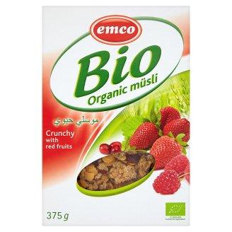 Emco BIO ropogós müzli piros gyümölcsökkel 375 g