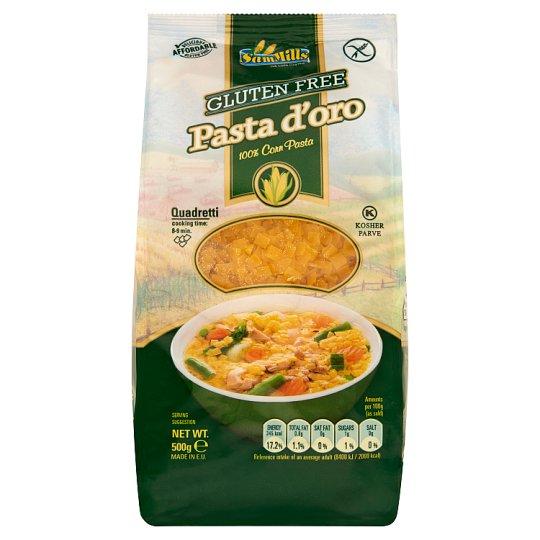 Sam Mills Pasta d'oro Quadratti Gluten-Free Dry Pasta from Corn 500 g