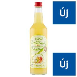 Tesco alma-citrus mix vegyes gyümölcsszörp 0,7 l