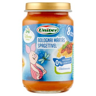 Univer Bolognese Sauce with Spaghetti Food for Babies 8+ Months 163 g