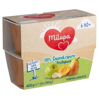 Milupa Frutapura Gyümölcsvarázs Fruit Puree 6+ Months 4 pcs 400 g