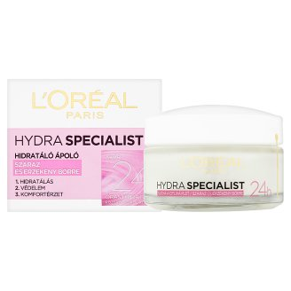 image 2 of L'Oréal Paris Hydra Specialist Moisturising Cream for Dry and Sensitive Skin 50 ml