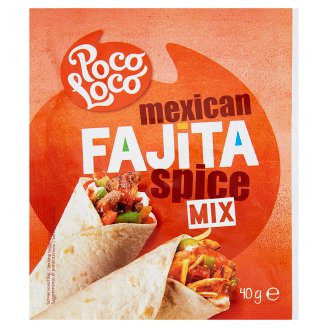 Poco Loco Fajita fűszerkeverék 40 g