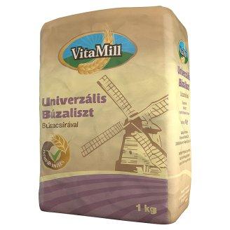 VitaMill univerzális búzaliszt búzacsírával 1 kg