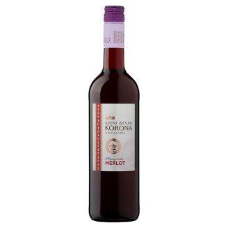 Szent István Korona Szekszárdi Merlot félszáraz vörösbor 12,5% 0,75 l