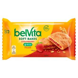 belVita JóReggelt! Softy gabonás keksz epres töltelékkel 50 g