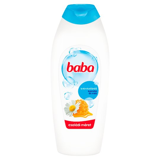 Baba Chamomile & Honey Shower Cream 750 ml
