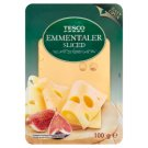 Tesco Sliced Emmentaler Cheese 100 g