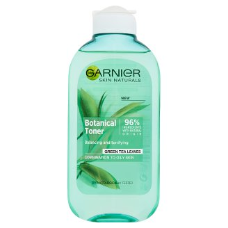 Garnier Skin Naturals Botanical Toner for Combination to Oily Skin with Green Tea Leaves 200 ml