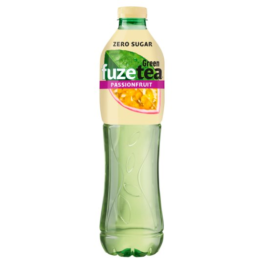 FUZETEA Energy-Free, Non-Carbonated Passion Fruit Flavoured Soft Drink with Sweeteners 1,5 l