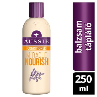 Aussie Miracle Nourish Conditioner To Give Hair A Nourishing Hug 250ML