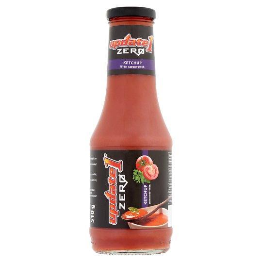 Update 1 Zero ketchup édesítőszerrel 510 g