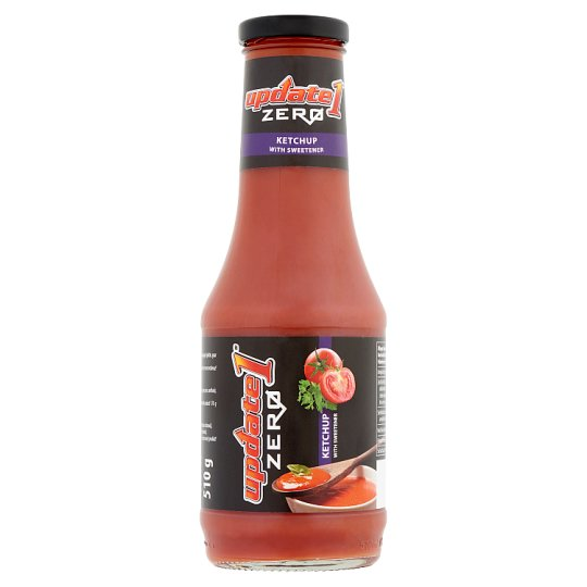Update 1 Zero Ketchup with Sweetener 510 g