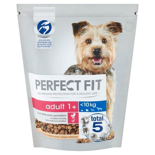 Perfect Fit Adult 1+ XS/S teljes értékű száraz kutyaeledel felnőtt kutyák számára 825 g