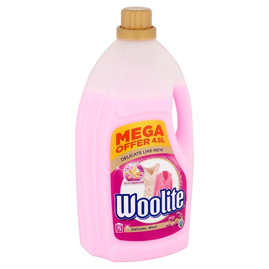 Woolite Delicate, Wool Liquid Detergent for Delicate Clothes 75 Washes 4,5 l