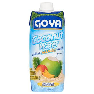Goya UHT Coconut Water with a Mango Twist 500 ml