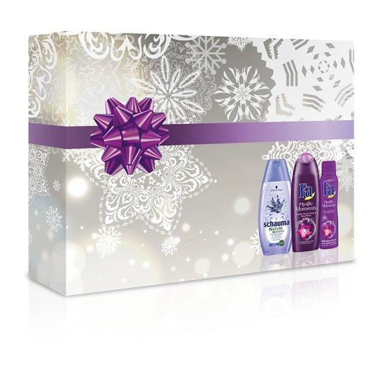 Fa Mystic Moments / Schauma Nature Moments Premium Christmas Gift Box for Women