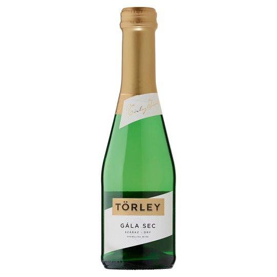 Törley Gála Sec száraz fehér pezsgő 0,2 l