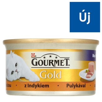 Gourmet Gold Complete Pet Food for Adult Cats  with Turkey Paste 85 g